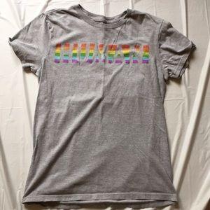 Rainbow Gay Pride Human T Shirt